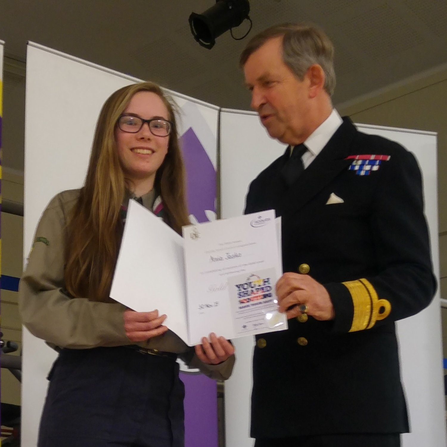 Scouts Explorer Scouts And Scout Network Members Are